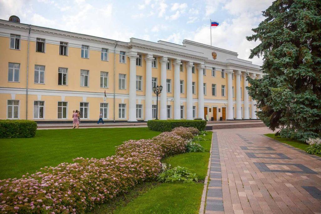 Здание присутственных мест, Великий Новгород