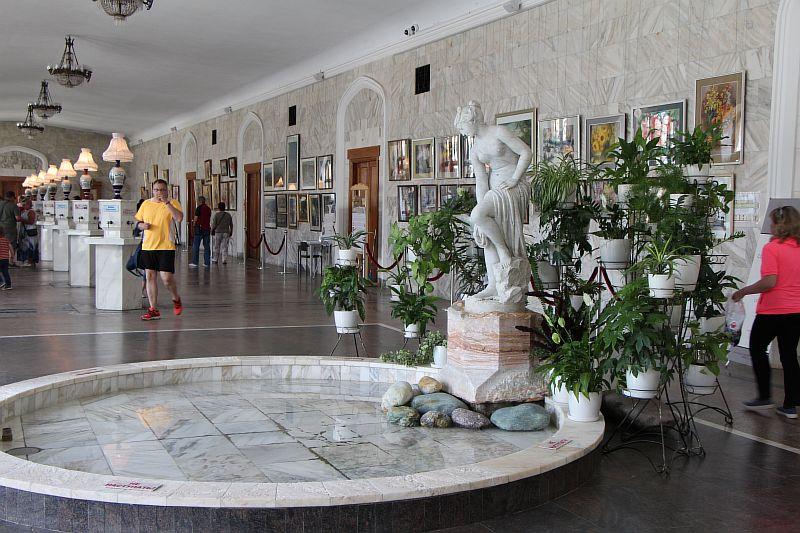 Нарзанная галерея, Кисловодск
