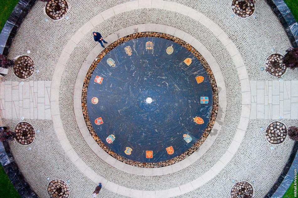 Ганзейский фонтан, Великий Новгород
