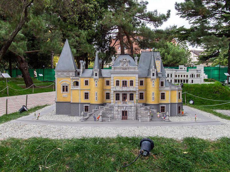 Парк «Крым в миниатюре», Алушта