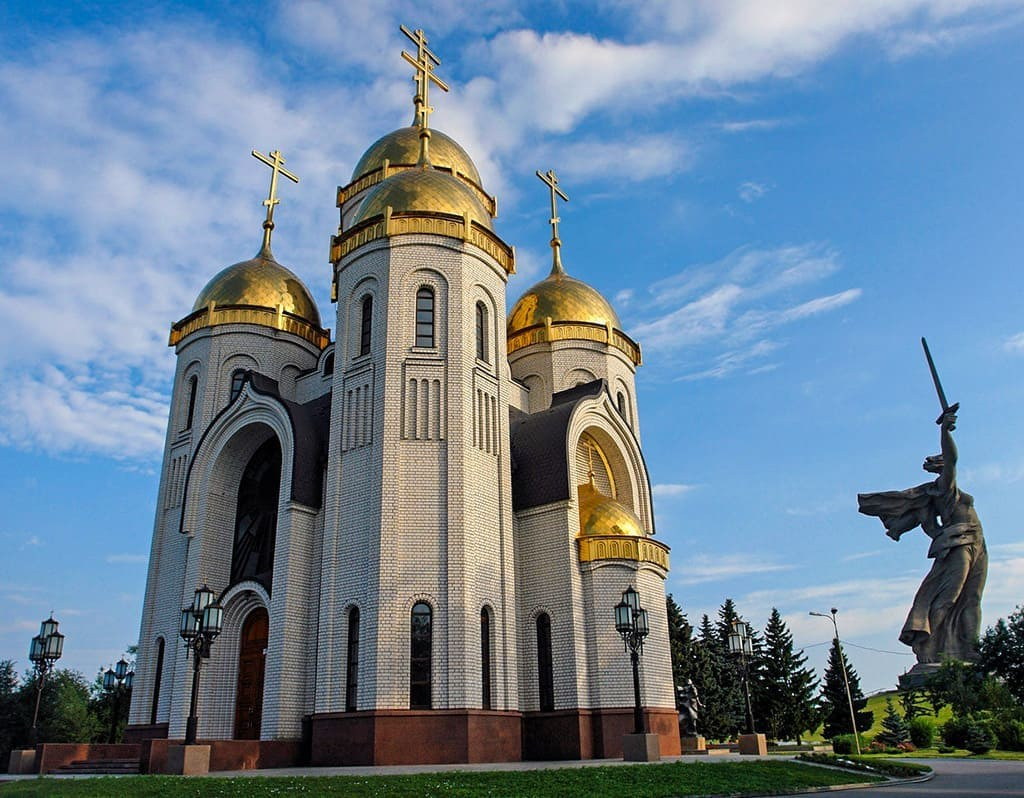 Храм Всех Святых, Волгоград