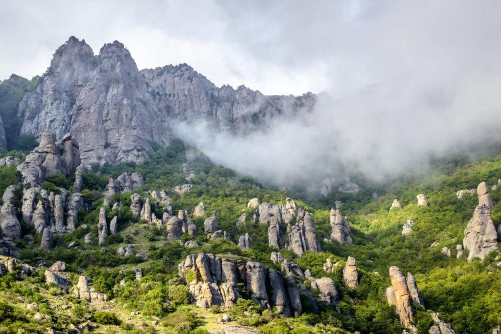 Долина Привидений, Алушта