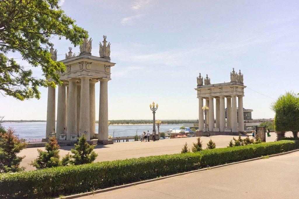 Центральная набережная, Волгоград