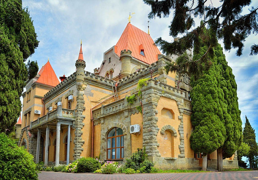 Дворец княгини Гагариной, Алушта