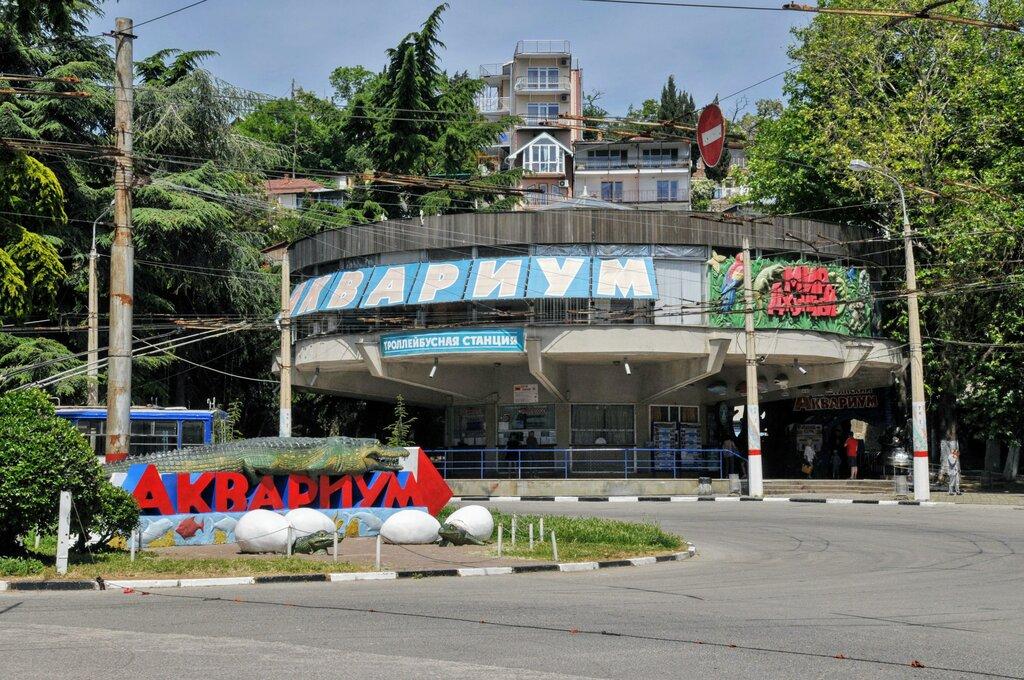 Алуштинский аквариум, Алушта