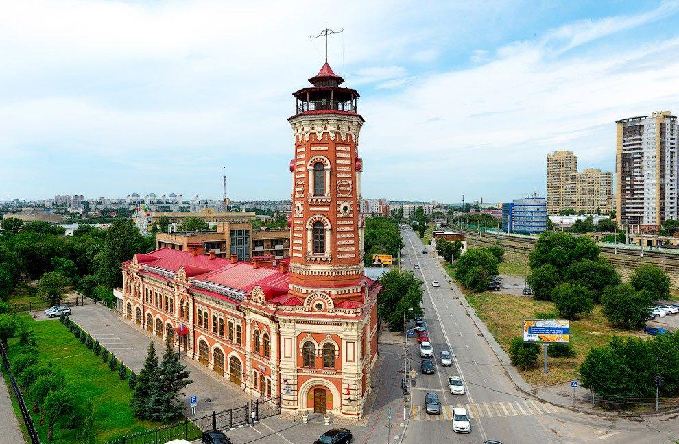 Каланча царицынской пожарной команды, Волгоград