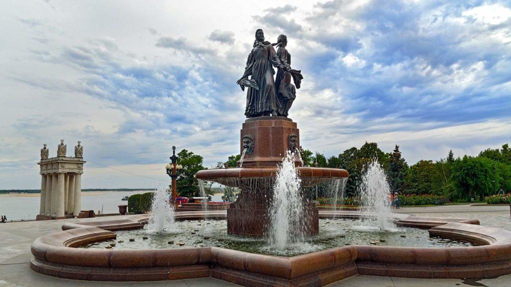 Фонтан «Искусство», Волгоград