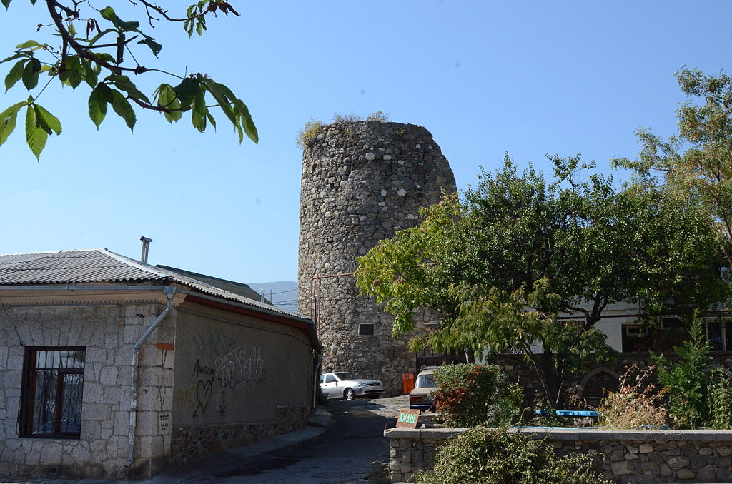 Крепость Алустон, Алушта