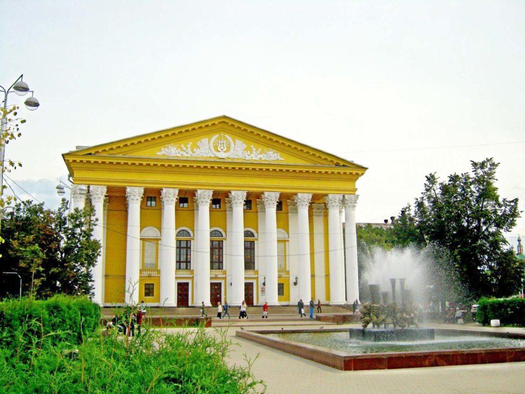 Рязанский областной театр драмы, Рязань