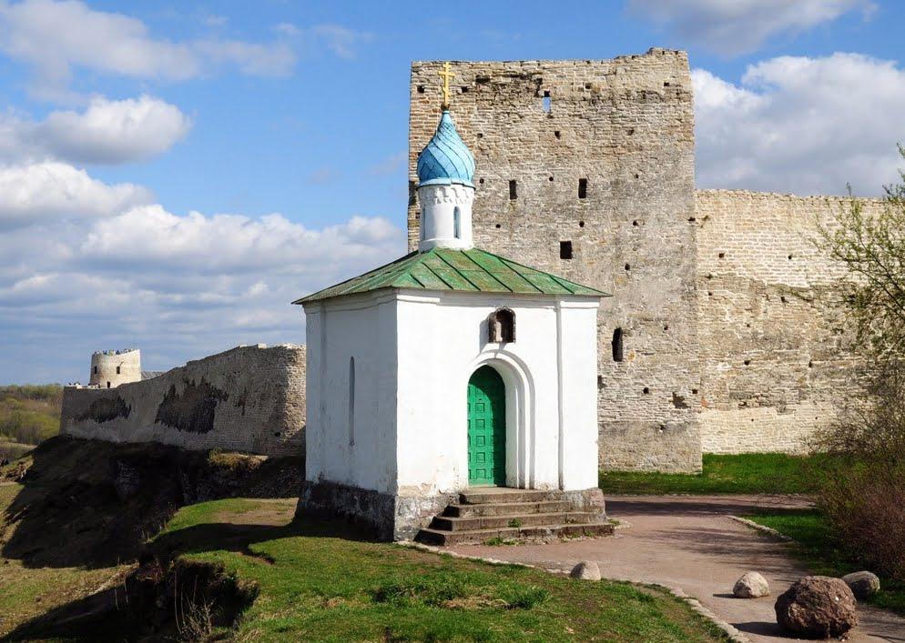 Корсунская часовня, Изборск