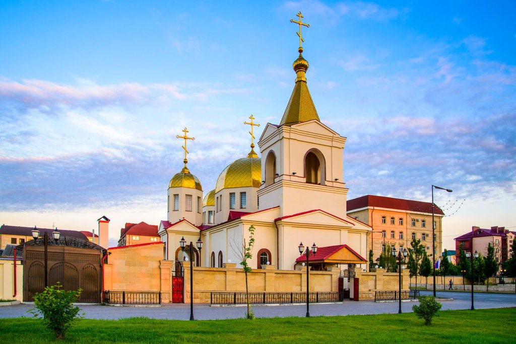 Храм Архангела Михаила, Грозный