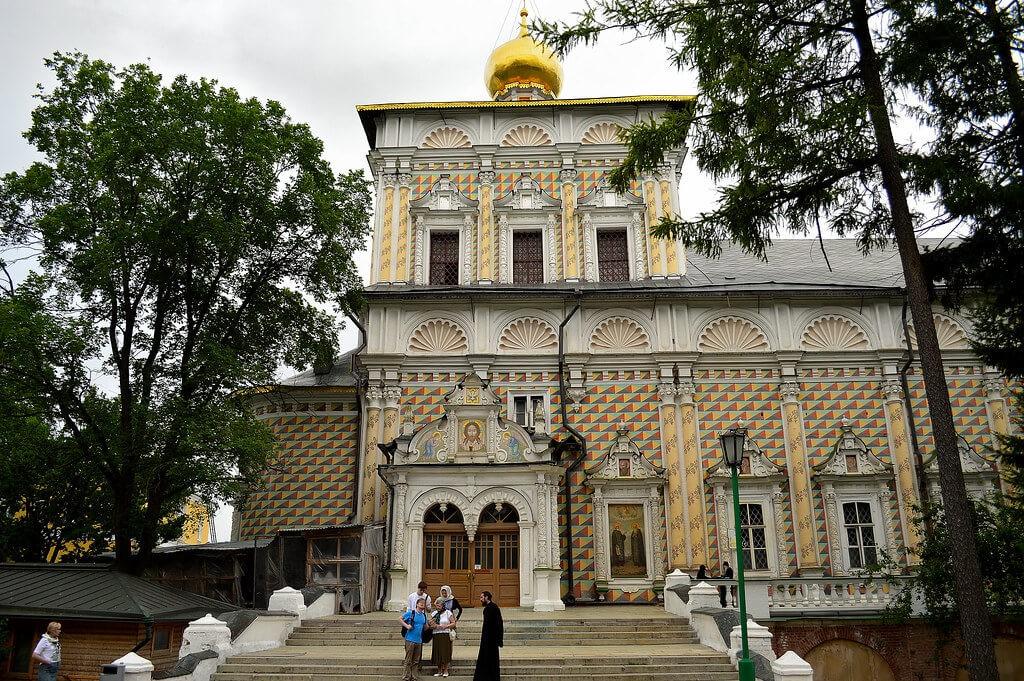 Церковь преподобного Сергия с Трапезной палатой, Сергиев Посад