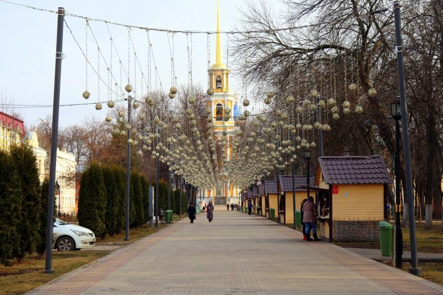 Соборный парк, Рязань