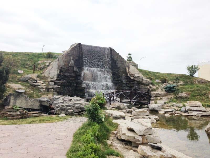 Фонтан «Водопад», Грозный