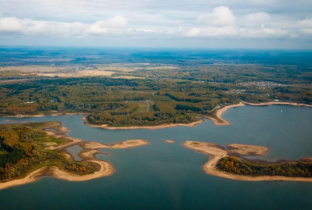 Можайское водохранилище, Можайск