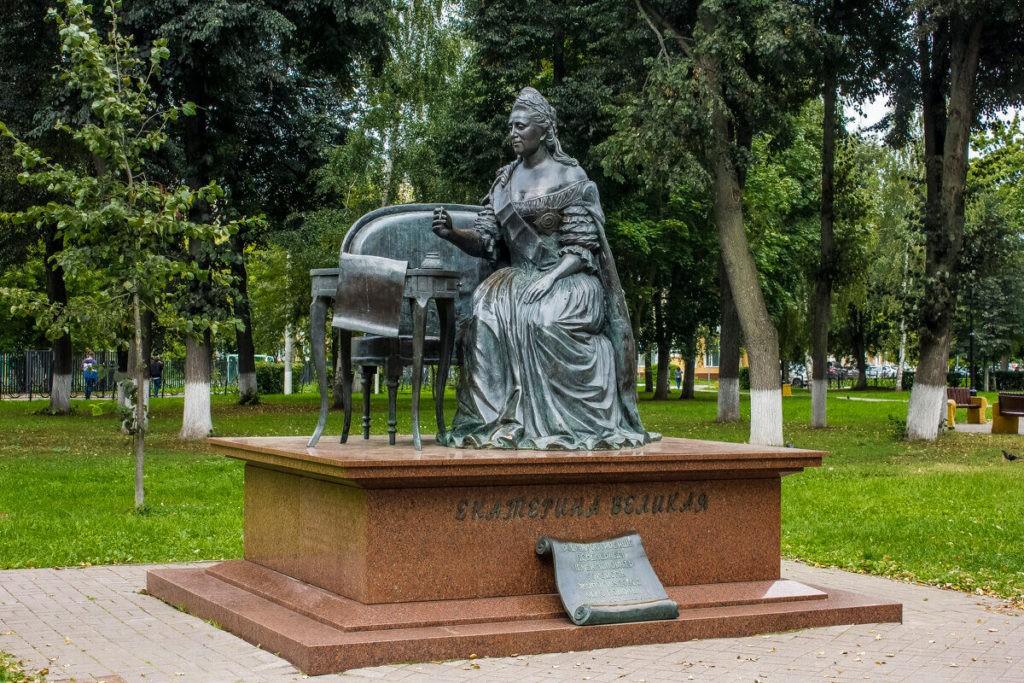 Памятник Екатерине II, Подольск