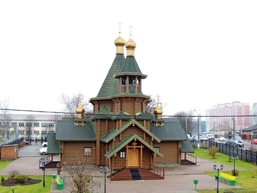 Храм Георгия Победоносца, Подольск