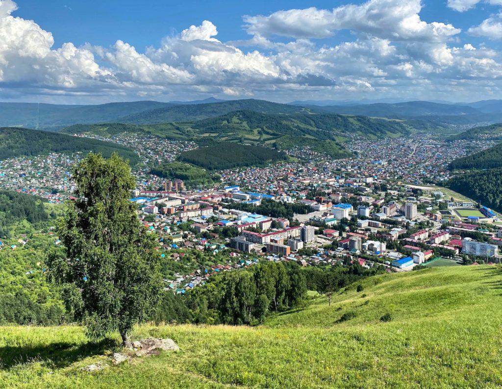 Городской панорамный парк «Гора Тугая», Горно-Алтайск