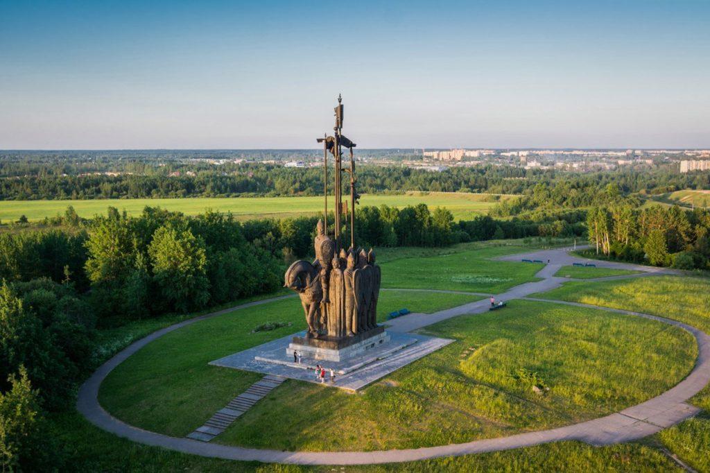 Монумент «Ледовое побоище», Псков