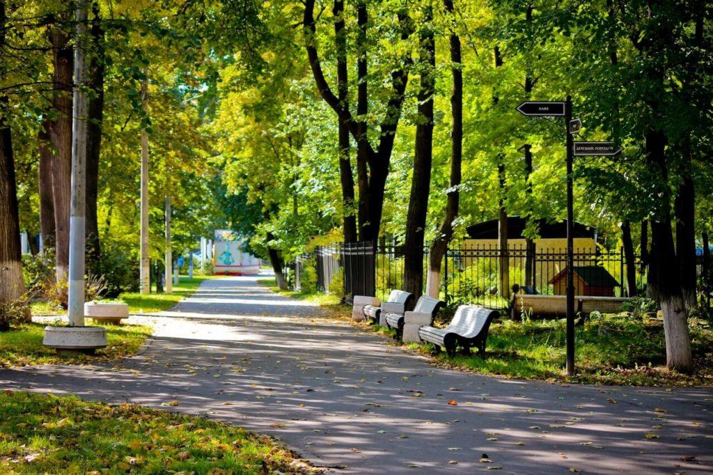 Парк Талалихина, Подольск