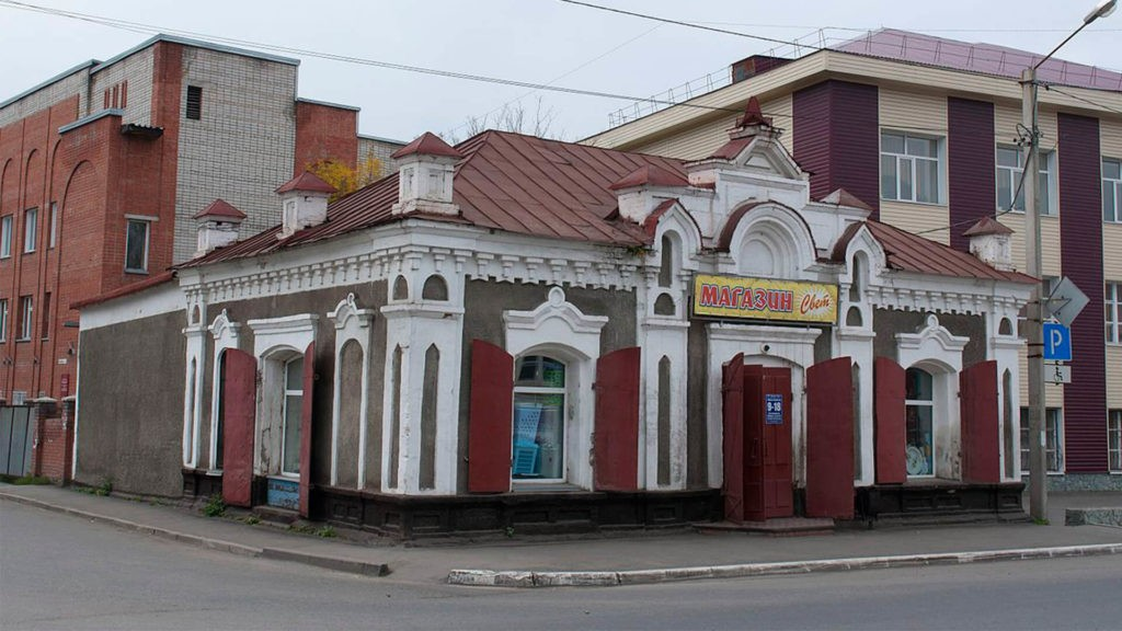 Винная лавка купца Тобокова, Горно-Алтайск