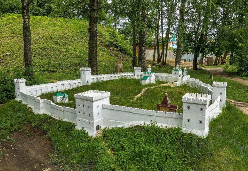 Макет Можайского кремля, Можайск