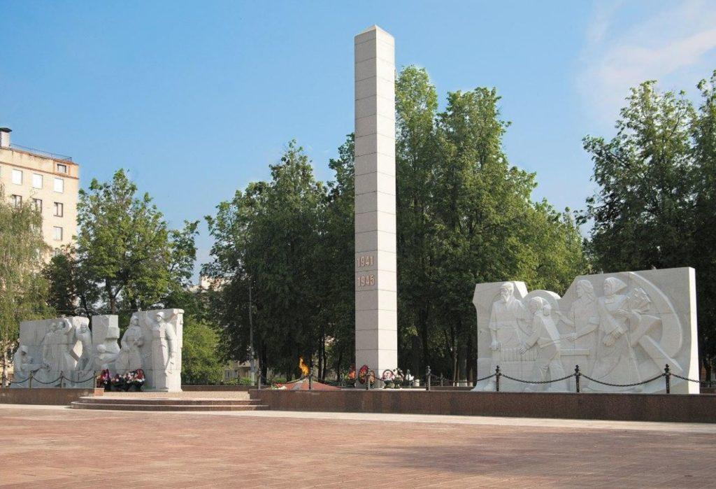 Площадь Славы, Подольск