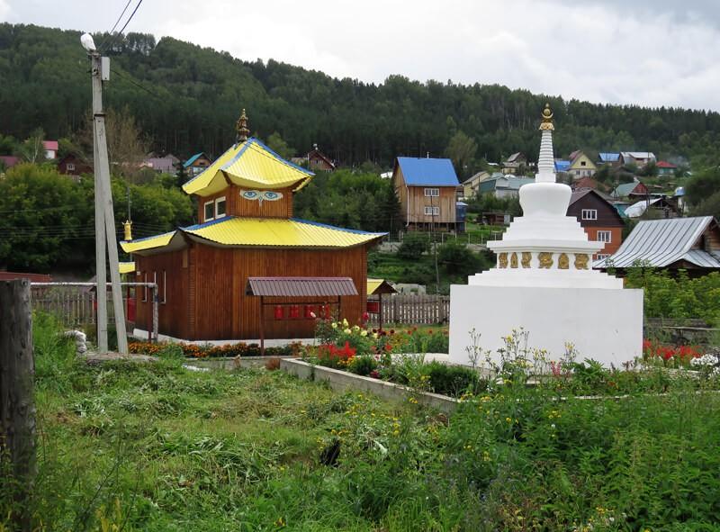 Буддийский храм Ак-Бурхан, Горно-Алтайск