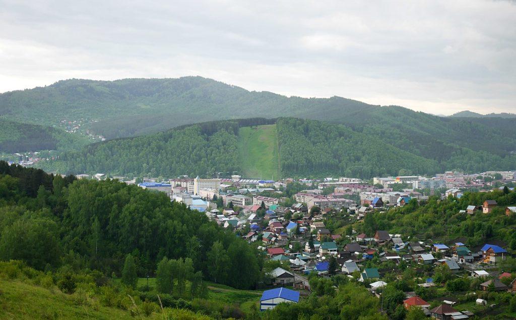 Гора Комсомольская, Горно-Алтайск