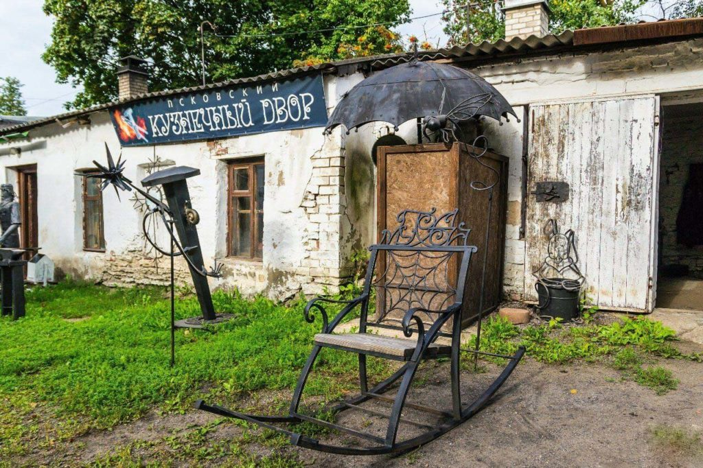 Псковский Кузнечный Двор, Псков