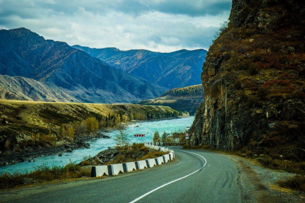 Чуйский тракт, Горно-Алтайск