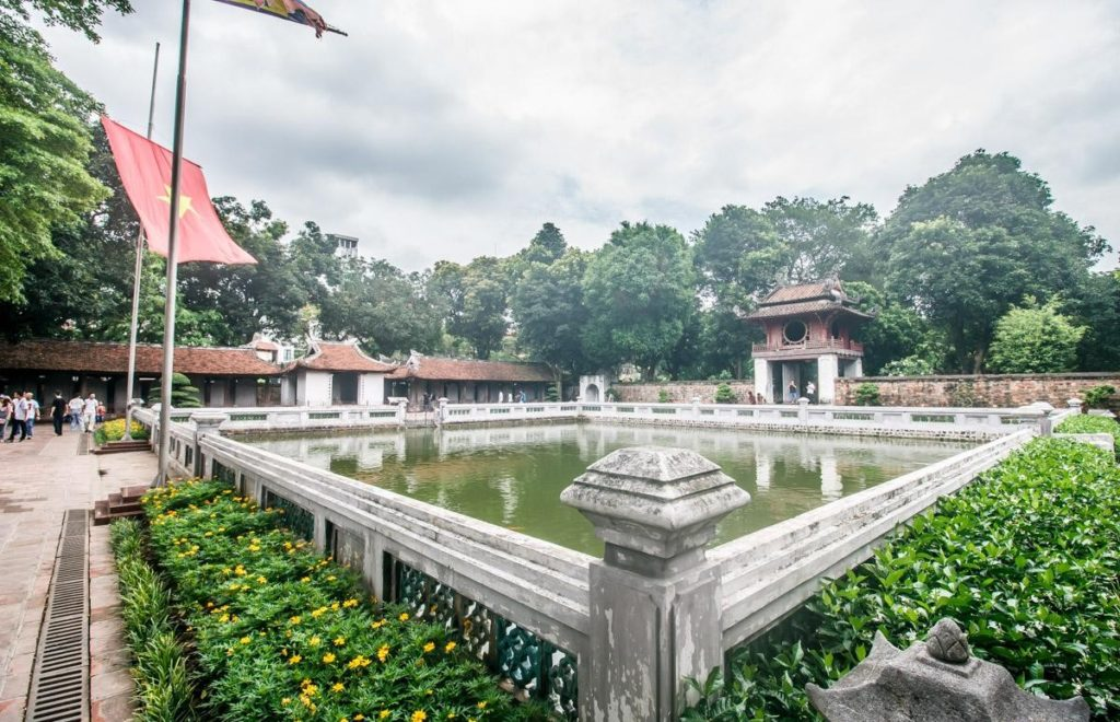 Храм литературы, Ханой