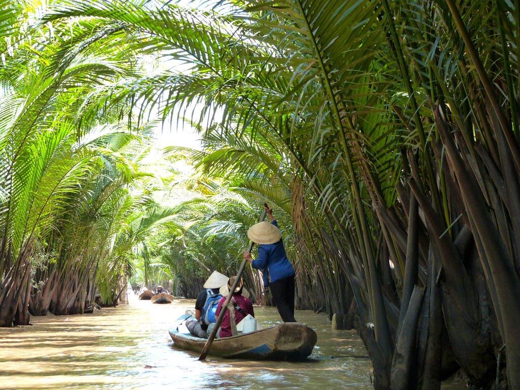 Дельта реки Меконг, Вьетнам