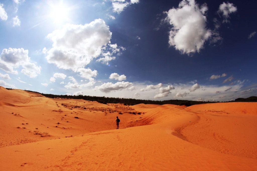 Красные дюны, Муйне