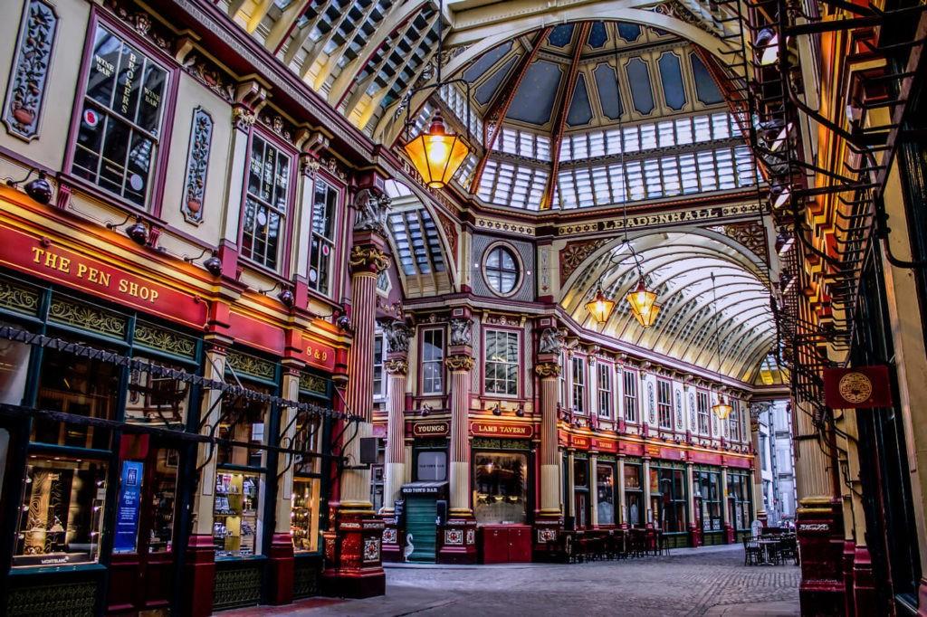 Леденгольский рынок, Лондон