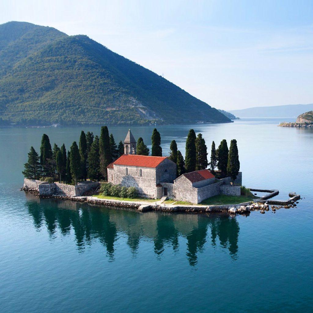 Остров Святого Георгия, Пераст, Черногория