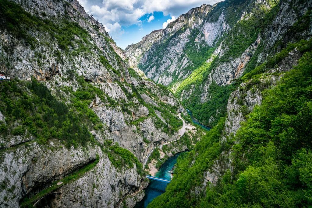 Каньон реки Пива, Черногория