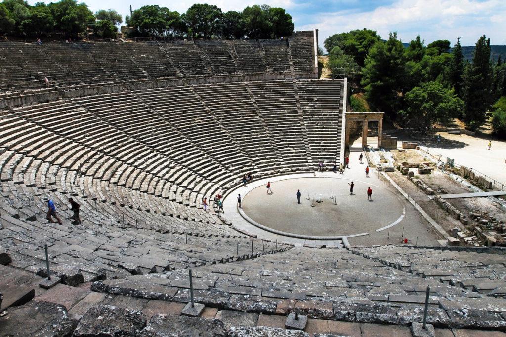 Античный театр Эпидавра, Греция