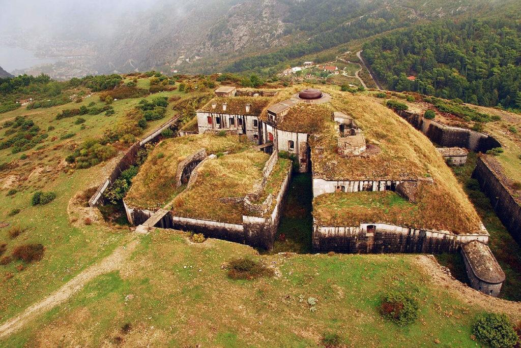 Старый австрийский форт Горажда, Котор