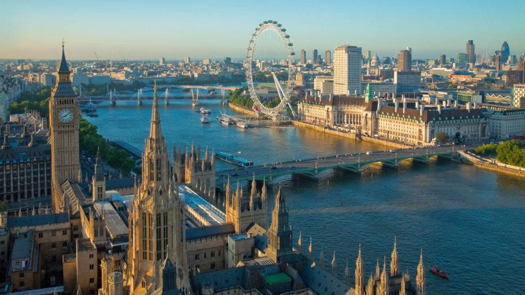 Колесо обозрения «Лондонский глаз», Лондон
