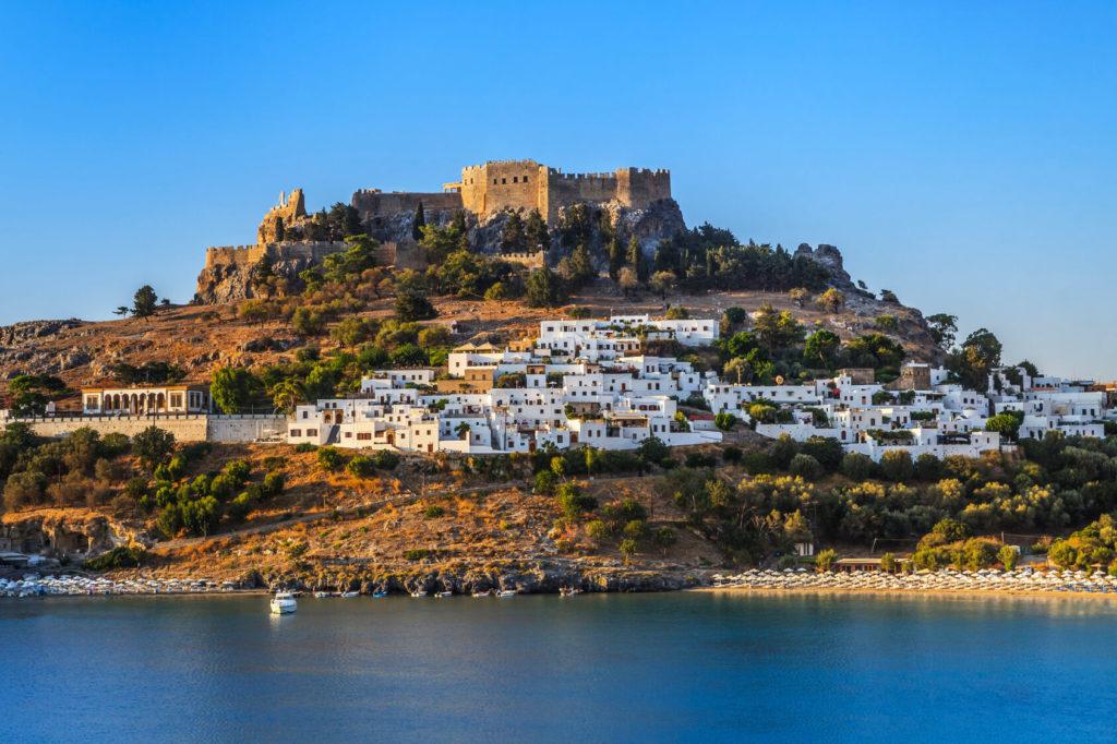 Акрополь Линдоса, Греция