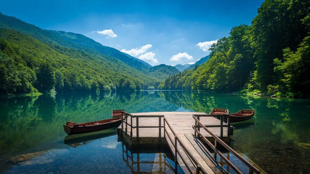 Биоградское озеро, Национальный парк Биоградска Гора