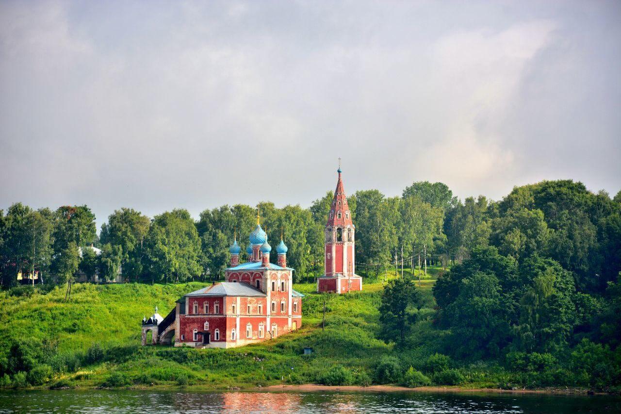 Казанская Преображенская церковь, Тутаев
