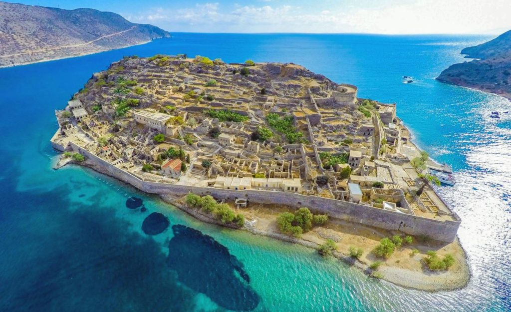 Остров Спиналонга, Греция
