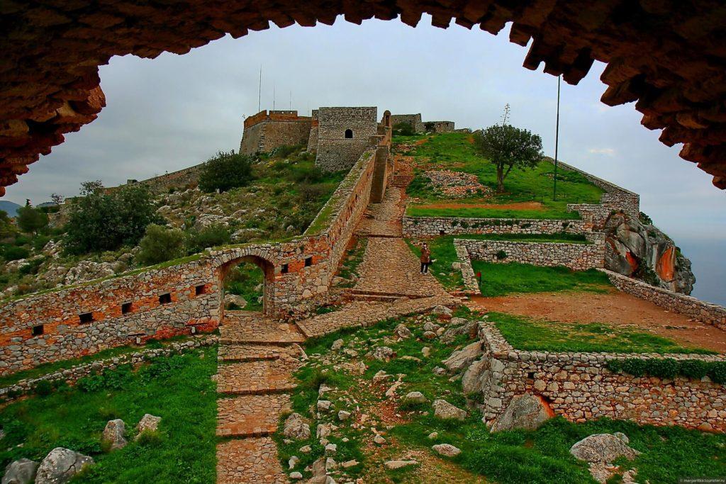 Крепость Паламиди, Нафплион