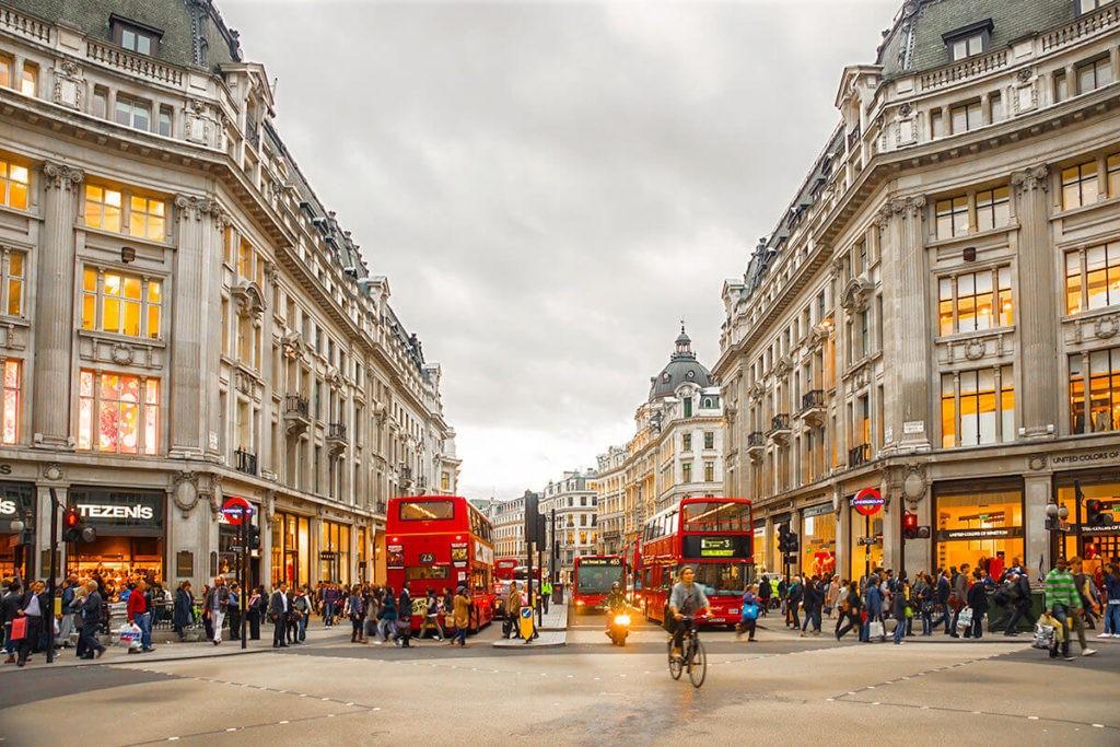 Улица Оксфорд-стрит, Лондон