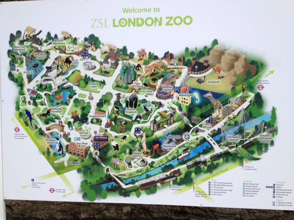 Лондонский зоопарк, Лондон