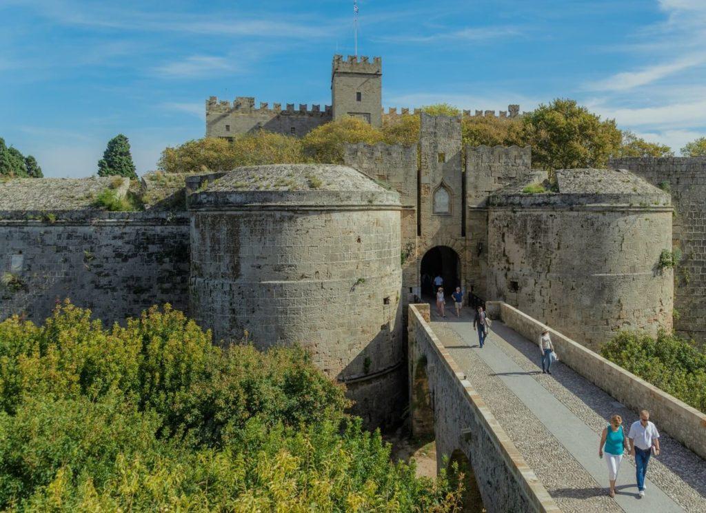 Родосская крепость, Родос
