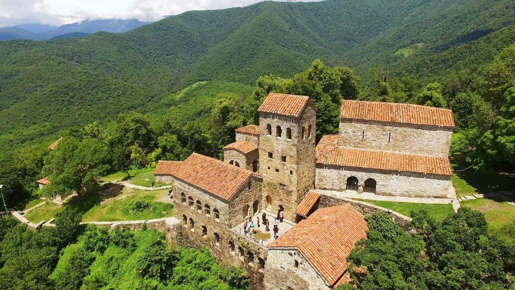 Монастырь Некреси, Кахетия, Грузия