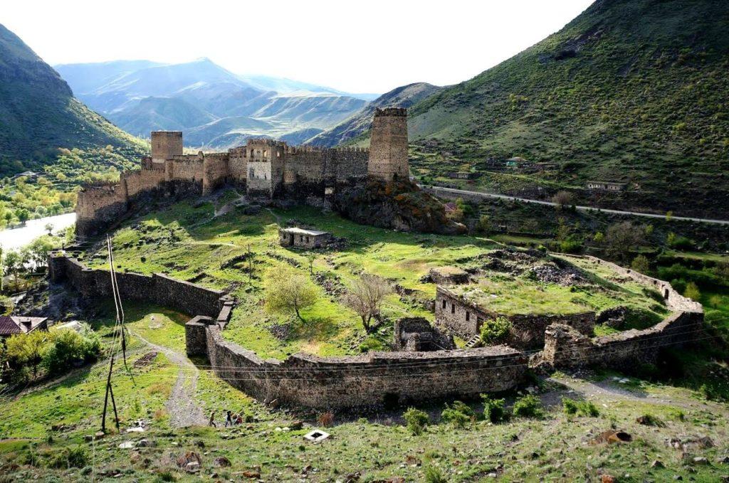 Древняя крепость Хертвиси, Грузия